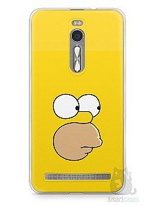 Capa Zenfone 2 Homer Simpson Face