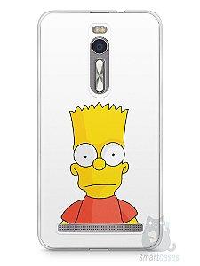 Capa Zenfone 2 Bart Simpson