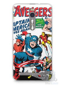 Capa Zenfone 2 The Avengers