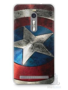 Capa Zenfone 2 Escudo Capitão América