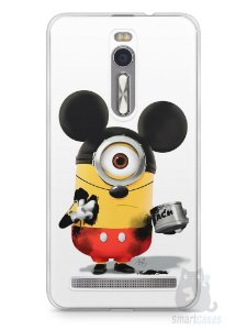 Capa Zenfone 2 Minions Mickey Mouse