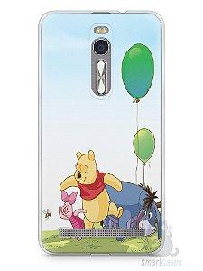 Capa Zenfone 2 Ursinho Pooh
