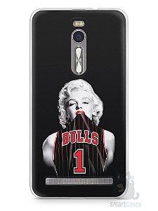 Capa Zenfone 2 Marilyn Monroe Bulls