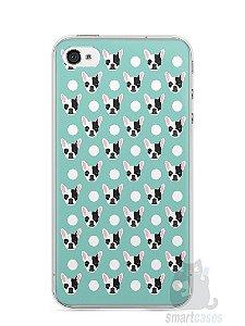 Capa Iphone 4/S Cachorros Bulldog Francês
