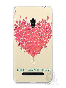 Capa Zenfone 5 Deixe o Amor Voar