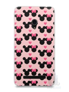 Capa Zenfone 5 Mickey e Minnie