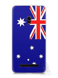 Capa Zenfone 5 Bandeira da Austrália