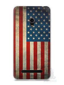 Capa Zenfone 5 Bandeira EUA