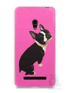 Capa Zenfone 5 Cachorro Boston Terrier