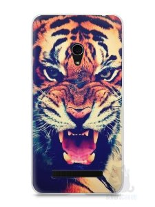 Capa Zenfone 5 Tigre Feroz