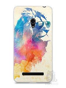 Capa Zenfone 5 Leão Colorido #2