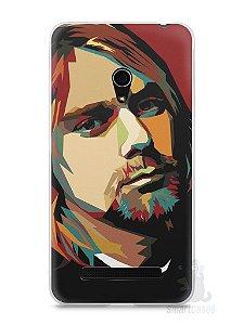 Capa Zenfone 5 Kurt Cobain
