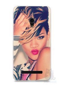 Capa Zenfone 5 Rihanna #1