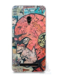 Capa Zenfone 5 The Flash Comic Books