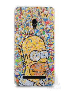 Capa Zenfone 5 Homer Simpson Comic Books