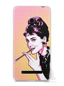 Capa Zenfone 5 Audrey Hepburn #2