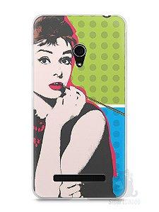 Capa Zenfone 5 Audrey Hepburn #3