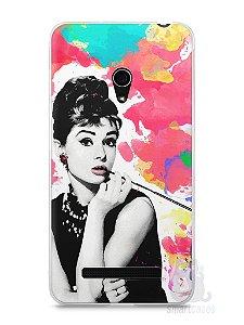 Capa Zenfone 5 Audrey Hepburn #5