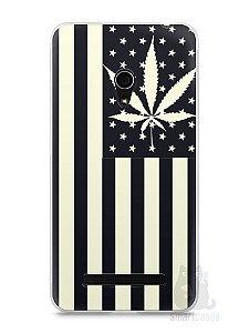 Capa Zenfone 5 Maconha Bandeira EUA
