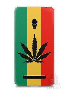 Capa Zenfone 5 Rasta Weed #2