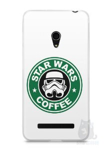 Capa Zenfone 5 Star Wars Coffee