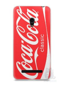 Capa Zenfone 5 Coca-Cola