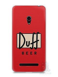 Capa Zenfone 5 Cerveja Duff