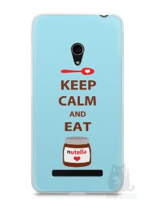 Capa Zenfone 5 Keep Calm and Eat Nutella