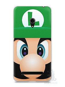 Capa Zenfone 5 Luigi Irmão do Super Mario