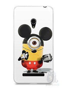 Capa Zenfone 5 Minions Mickey Mouse