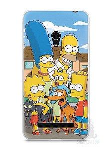 Capa Zenfone 5 Família Simpsons #1