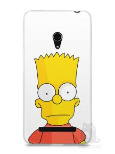 Capa Zenfone 5 Bart Simpson