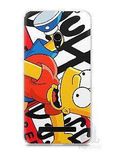 Capa Zenfone 5 Bart Simpson Duff