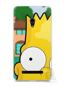 Capa Zenfone 5 Bart Simpson Face