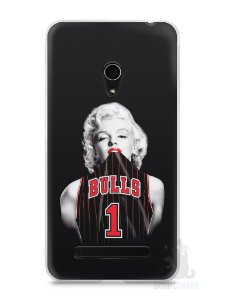 Capa Zenfone 5 Marilyn Monroe Bulls