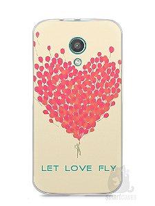 Capa Moto G2 Deixe o Amor Voar