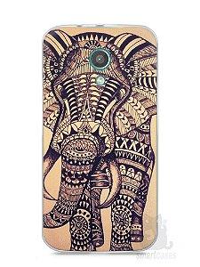 Capa Moto G2 Elefante Tribal