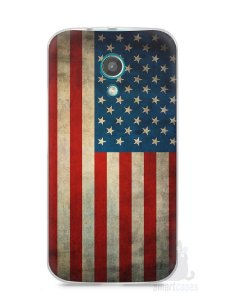 Capa Moto G2 Bandeira EUA
