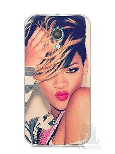 Capa Moto G2 Rihanna #1