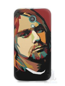 Capa Moto G2 Kurt Cobain