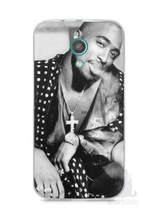 Capa Moto G2 Tupac Shakur #3