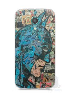 Capa Moto G2 Batman Comic Books #2