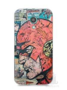 Capa Moto G2 The Flash Comic Books