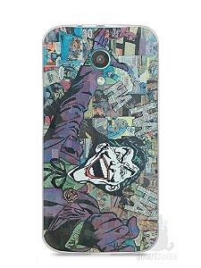 Capa Moto G2 Coringa Comic Books
