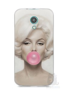 Capa Moto G2 Marilyn Monroe #1