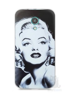 Capa Moto G2 Marilyn Monroe #4