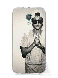 Capa Moto G2 Justin Bieber
