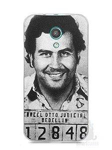 Capa Moto G2 Pablo Escobar