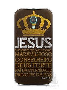 Capa Moto G2 Jesus #4