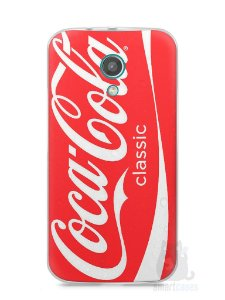 Capa Moto G2 Coca-Cola